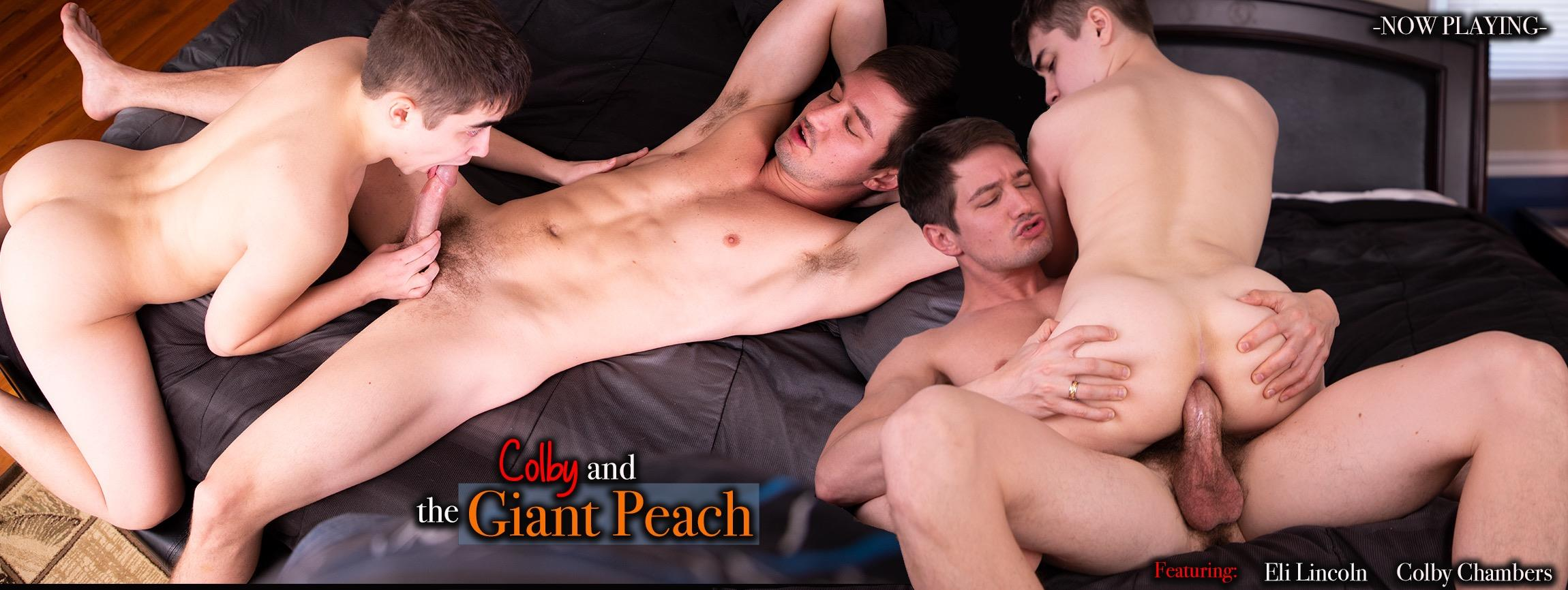 Colby and the Giant Peach