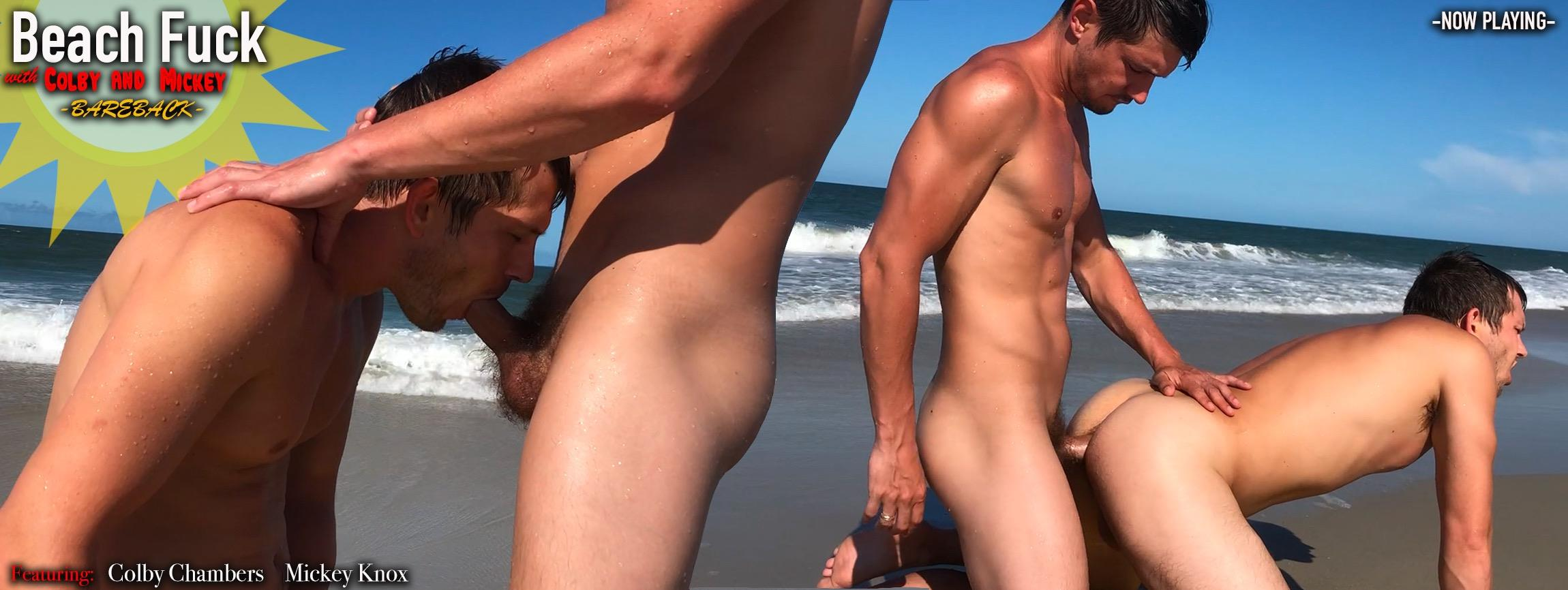 Beach Fuck with Colby and Mickey